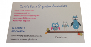 Carin's Home & Garden Decorations